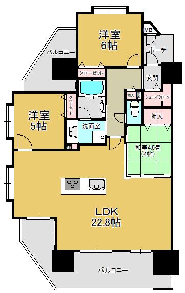 EM慶徳401